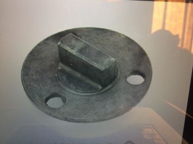 Coupler from pump to camshaft