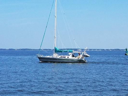 Photo taken on Chesapeake by S/V Gerty