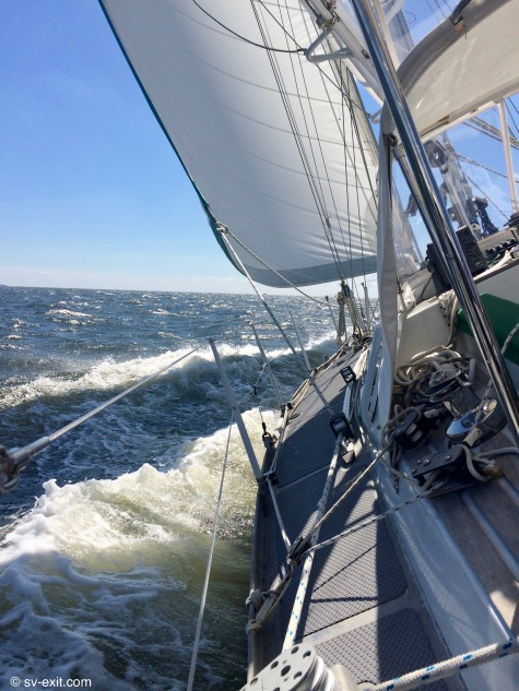 Beating across the Chesapeake
