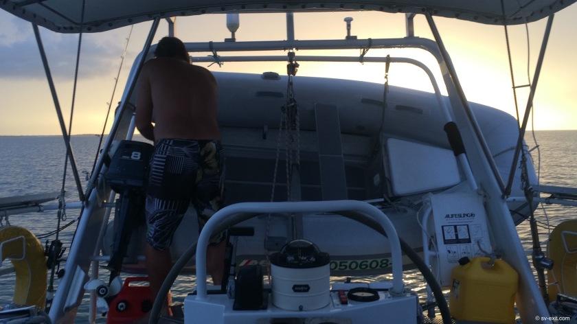 Offshore preparations