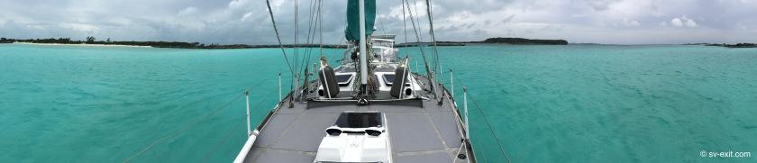 Fowl Cay foul weather