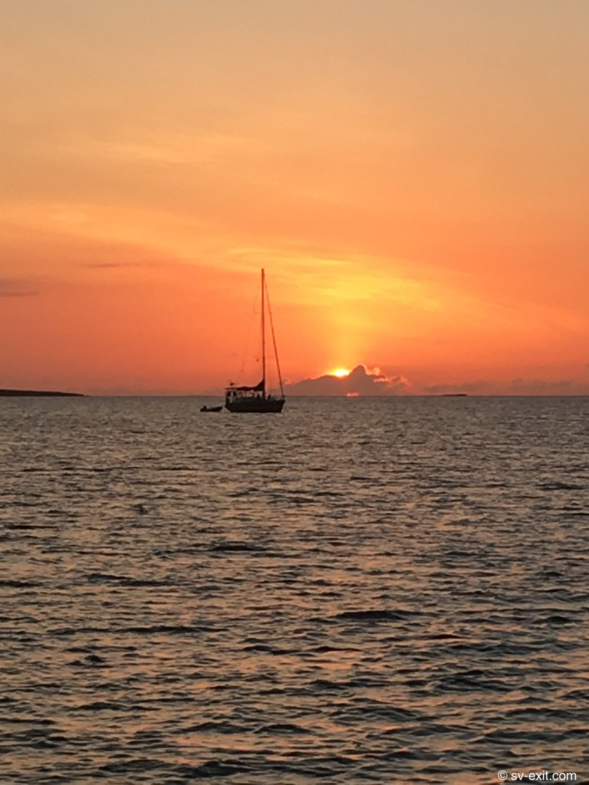 Spencers Bight Abaco sunset