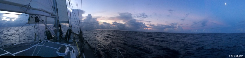 Twilight 75nm offshore