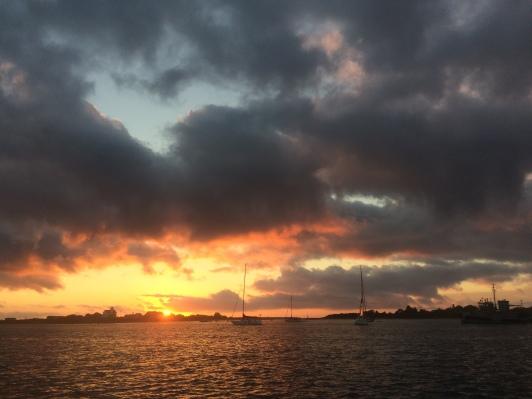 Block Island sunset