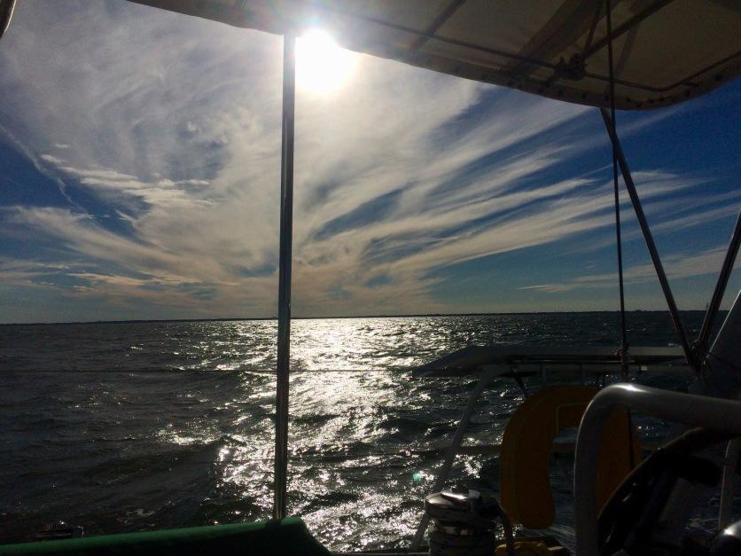 Heading offshore from Norfolk, VA - November 16, 2018