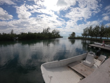 Hog Cay's private harbor