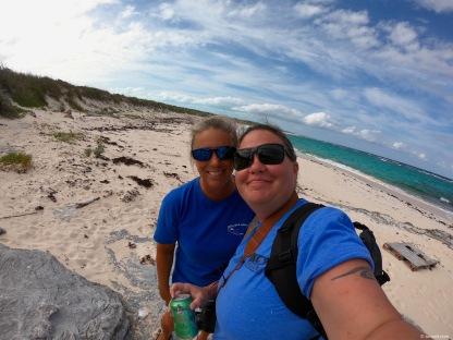 Beach selfies