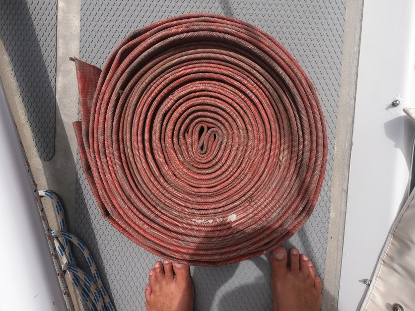 Firehose for line chafe protection