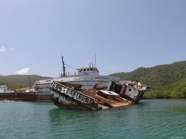Wrecks inside El Bight